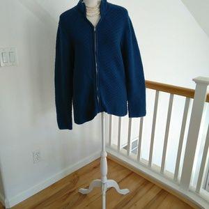 Jones New York blue jacket size XL